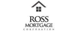 Black and White Ross Mortgage Logo